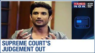 Sushant Singh Rajput's Death Case: Supreme Court reserves verdict on Rhea's jurisdiction plea