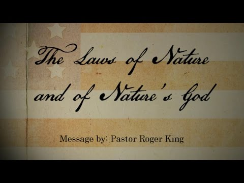 The Laws of Nature and of Nature's God