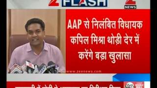 Former AAP leader Kapil Mishra declared to make more sensational revelations soon