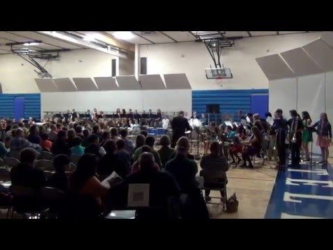 Sartell Middle School Jazz Band - Spring 2016