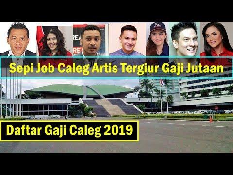 Daftar Gaji Caleg DPR RI 2019