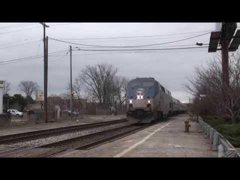 Amtrak -Blue Water - East Lansing,Mi