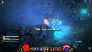 ★ Diablo 3 Gameplay - Inferno Act 1 Gold Farming - Fast Boss Farm - HD