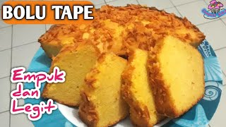 Resep Bolu Tape Panggang - Cara Membuat Prol Tape Singkong Keju Empuk dan Enak