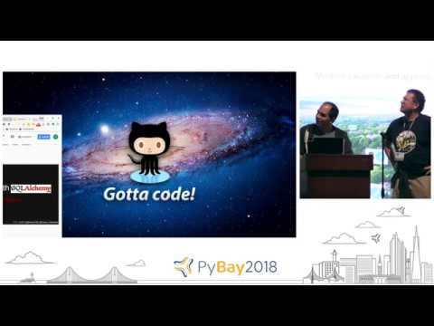 Image from Lightning Talks Day 3 Round 2 @ PyBay2018