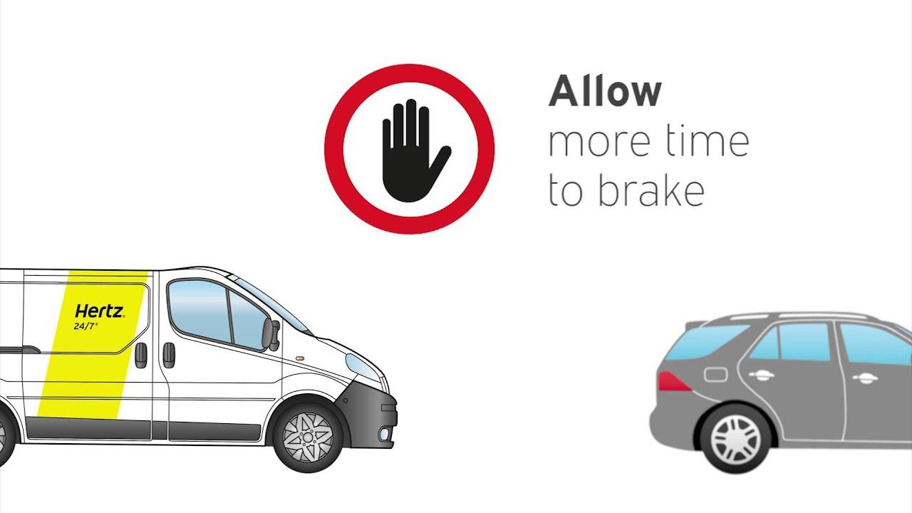 hertz tips on driving a van