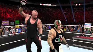 THE UNDERTAKER CHOOSES HIS PREY ON WWE 2K15 XBOX ONE
