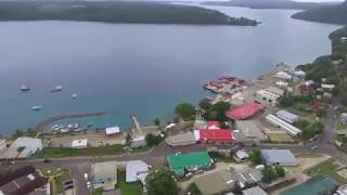Overview over Neiafu, Vava