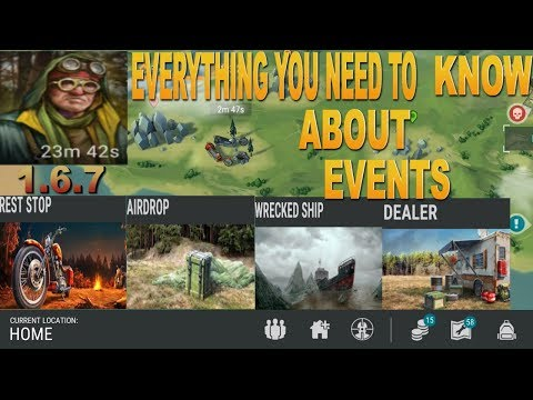 UPDATE 1.6.8 EVENTS GUIDE - HOW TO SPAWN -AIR DROP -SHIPWRECK- LAST DAY ON EARTH SURVIVAL