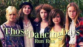 Those Dancing Days - Run Run (live at la Maroquinerie)