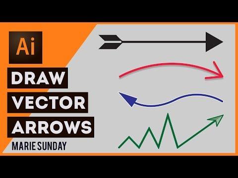 Draw Arrow Adobe Illustrator