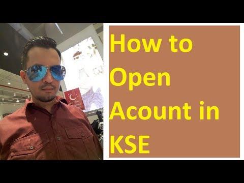 How to open account in Karachi Stock Exchange