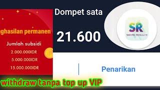 Download Trik dan tips supaya bisa Withdraw share results tanpa top up VIP