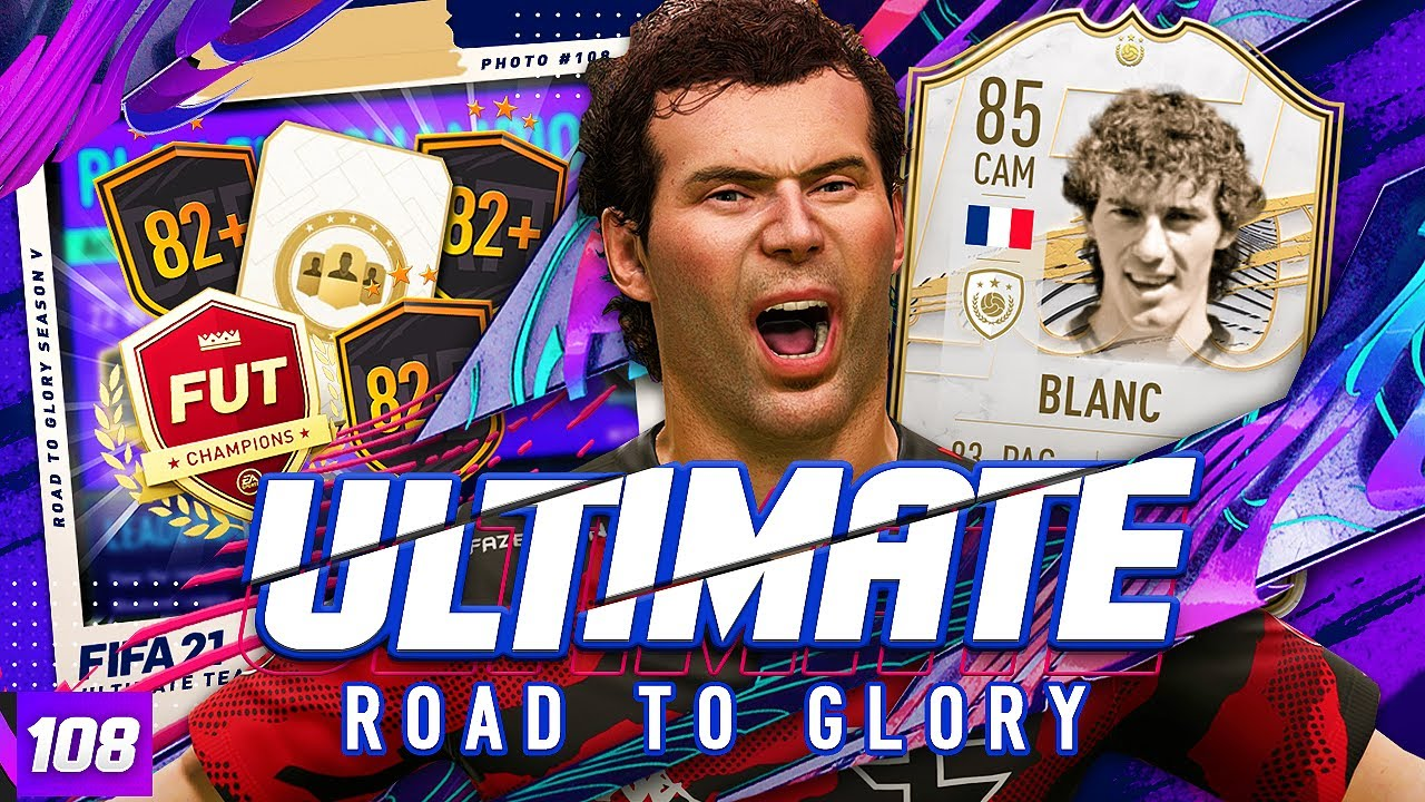 WHAT!? THIS HAPPENED IN FUT CHAMPS! ULTIMATE RTG #108 FIFA 21 Ultimate Team Road to Glory 82+