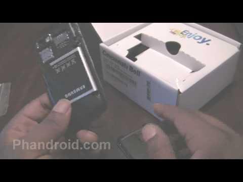 Samsung Behold II Unboxing (Cincinnati Bell Version)