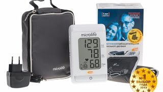 Тонометр Microlife BP A150(Простой и удобный автоматический тонометр с манжетой на плечо BP A150 станет Вашей надежной опорой при опреде..., 2015-06-05T10:25:16.000Z)
