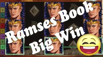 Online Casino Slots - Ramses Book - Low bet Big Win - Explorer Freispiele