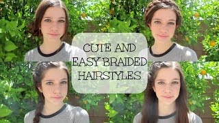 Cute and Easy Braided Hairstyles! Thumbnail