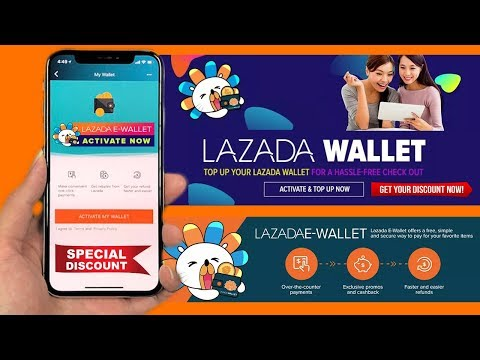 Activate Your Lazada E-Wallet To Get Big Discount!