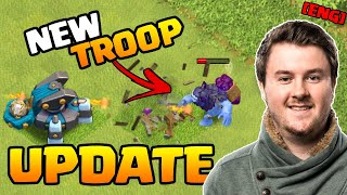 NEW Troop for Townhall 13 - Yeti in Clash of Clans  December Update #4