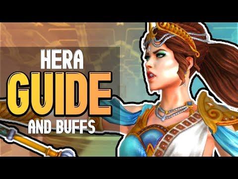 SMITE Hera Buff - Viable Now? - Hera Build & Guide