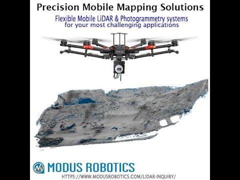 GEOMMS16  Quarry Drone Aerial LiDAR Scanning