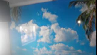 видео Натяжные потолки производства Франции