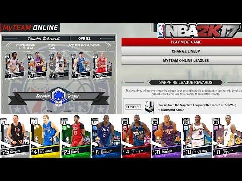 NBA 2k17 MyTEAM - MyTEAM Online! New Diamond Board! Better Rewards and More!