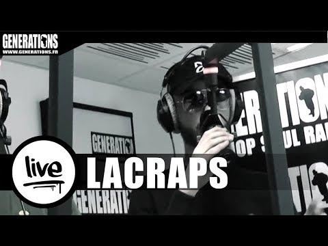 Youtube: Lacraps – Live«A la craie» (Live des studios de Generations)