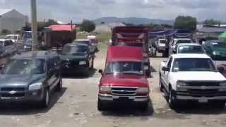 Tianguis de Camionetas usadas en Huixcolotla