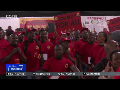 Labour federation Congress of South African Trade Unions launched