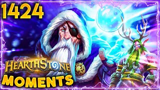 OBLITERATED By Aggro Druid On Turn 2! | Hearthstone Daily Moments Ep.1424