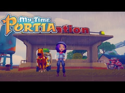 The Charging Station!! - My Time at Portia (Alpha 6.0) – Part 166