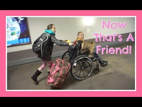 Wheelin' Through The Airport | Flippin' Katie