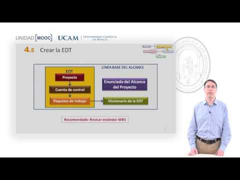 Curso MOOC Introducción Certificación PMP-PMI - Módulo 4. Crear la EDT