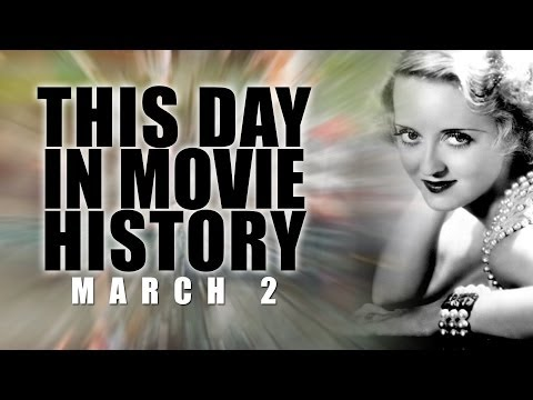 This Day In Movie History - Bette Davis: March 2, 1977 - Movie Film Fact HD