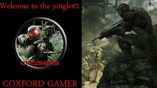 Let's Play Crysis 3 Campaign Story Mission Welcome To The Jungle Part Two Playthrough/Walkthrough.