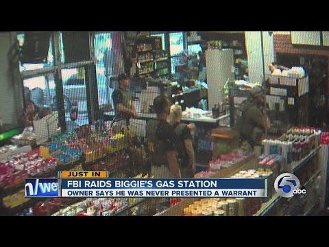 FBI raids store owner's business