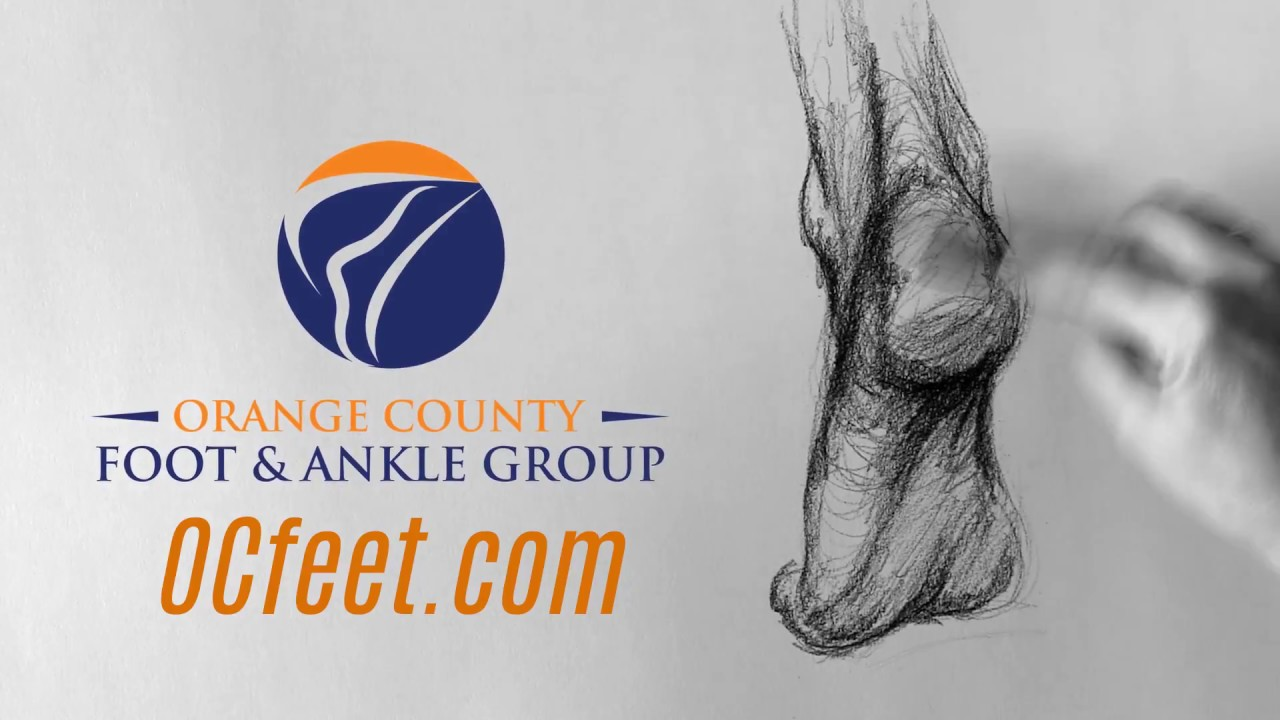 Take Care of Your Feet - Ankle Sketch - Orange County Foot & Ankle Group