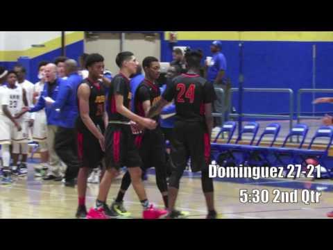 High School Basketball: Gahr vs. Dominguez