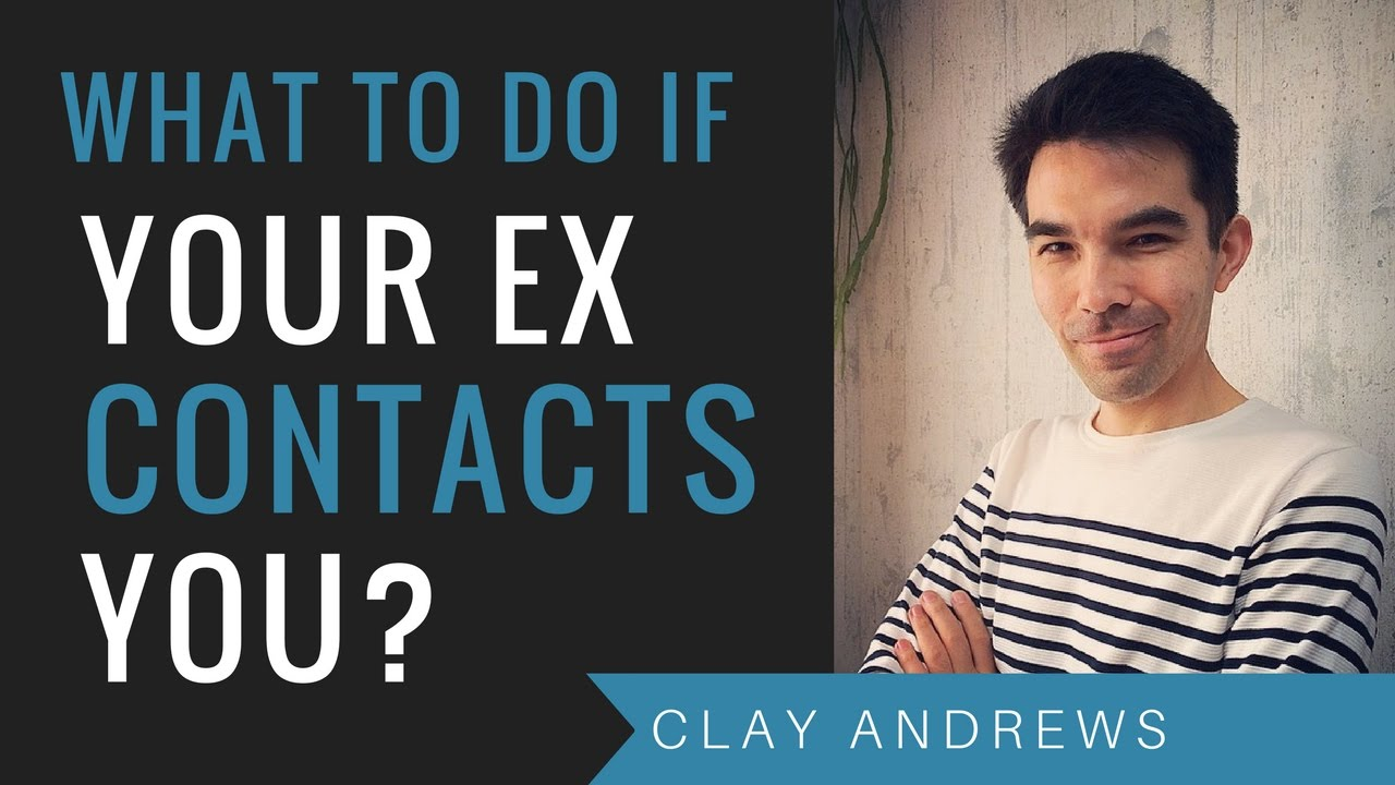 If your ex still contacts you