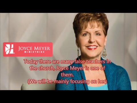 Joyce Meyer and other False Teachers Exposed, Complete Documentary.