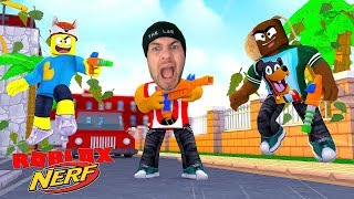 ROBLOX NERF WARS!! - DONUT IS THE KING OF NERF GUNS!!
