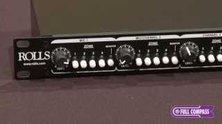 Rolls Corporation RM424 Four-Zone Mixer Overview   Full Compass