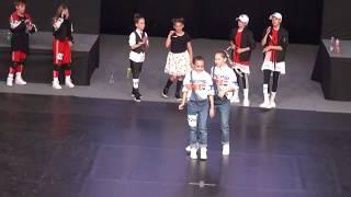 6. mesto Tinkara Grmek  in Hana Testen  (hip hop pari otroci) DP - 18