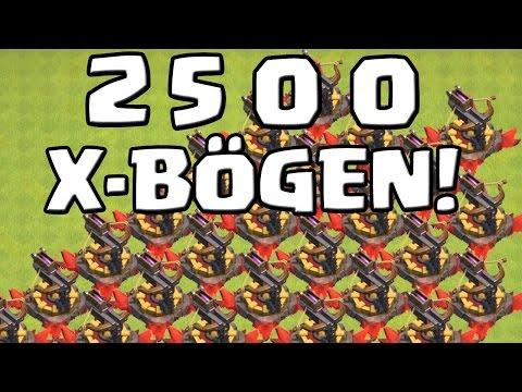 2500 X-BÖGEN! || CLASH OF CLANS || Let's Play CoC [Deutsch/German HD+]