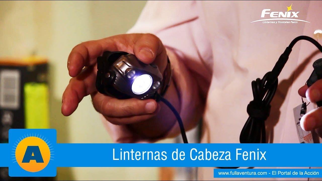 Linternas de cabeza fenix youtube - Linternas de cabeza ...
