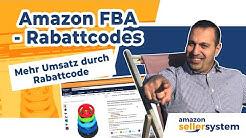 AMAZON FBA Mehr Umsatz Rabatt-Codes auf Amazon erstellen - Werbeaktionen & Preisnachlass