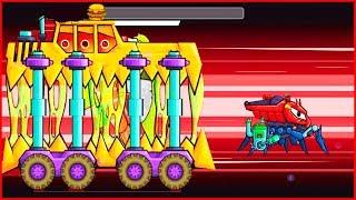 Меня Съел НЯМ-НЯМ-НЯМ car eats car 2 Игра как мультик про хищные машинки от Фаника 7