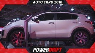 Kia Sportage @ Auto Expo 2018 : PowerDrift